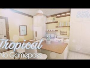 Tropical Tiny Home || Žádná gamepass || 35k