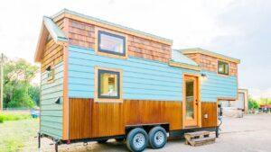 Vlastní 28 Gooseneck Tiny House na kolech od Mitchcraft Tiny Homes Viet Anh Design Home
