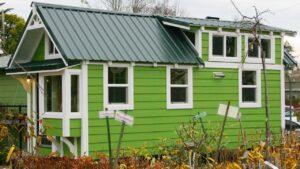 Zelený energetický dům Krásný malý dům