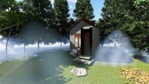 malý dům 3x4 micro house design malý dům nyní Opuštěný dům v džungli casa de 3x4